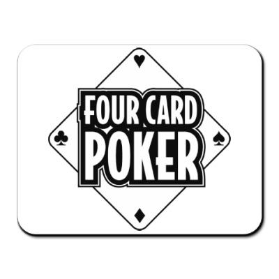 Коврик для мыши Four Card Poker