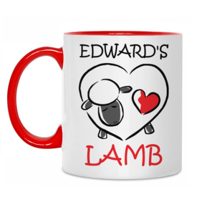 Кружка Edward's lamb