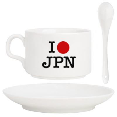 Кофейный набор I love Japan