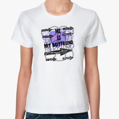 Классическая футболка He is Boyfriend