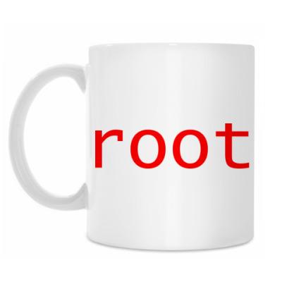 Кружка root (красный)