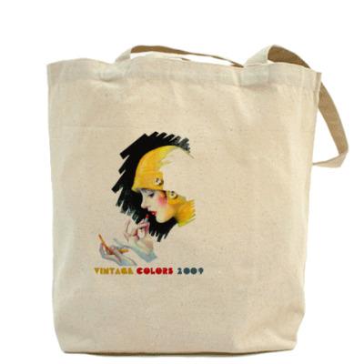 Холщовая сумка VintageColors