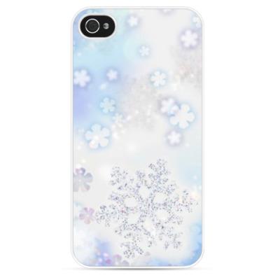 Чехол для iPhone снежинка