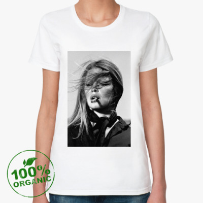 Женская футболка из органик-хлопка Brigitte Bardot