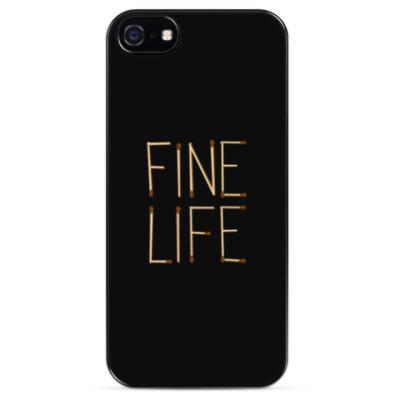 Чехол для iPhone Fine Life
