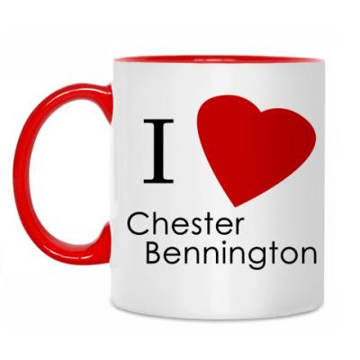 Кружка I love Bennington
