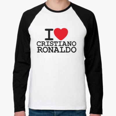 Футболка реглан с длинным рукавом Cristiano Ronaldo