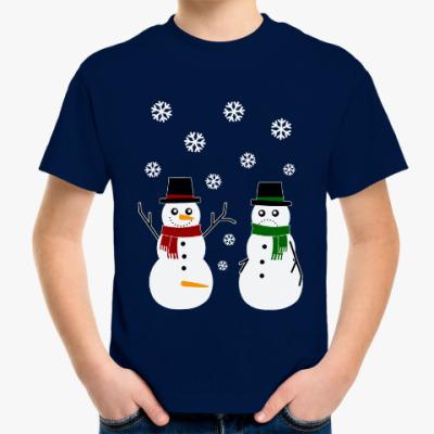 Детская футболка Happy Snowman