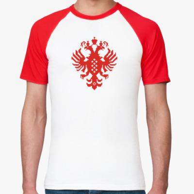Футболка реглан Герб Российской империи