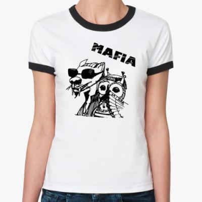 Женская футболка Ringer-T MAFIA