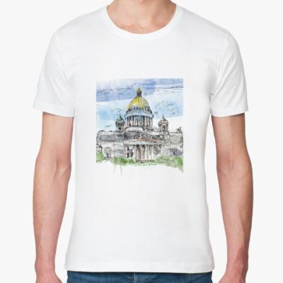 Футболка из органик-хлопка Исаакиевский собор. Питер