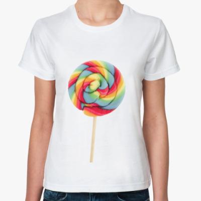 Классическая футболка  'Lollipop'