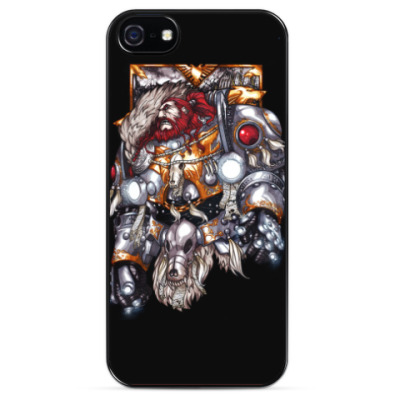 Чехол для iPhone Leman Russ the Primarch of the Space Wolves