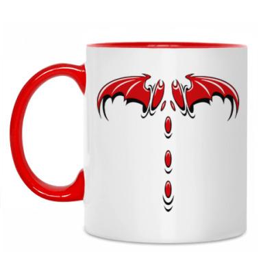 Кружка Крылья демона
