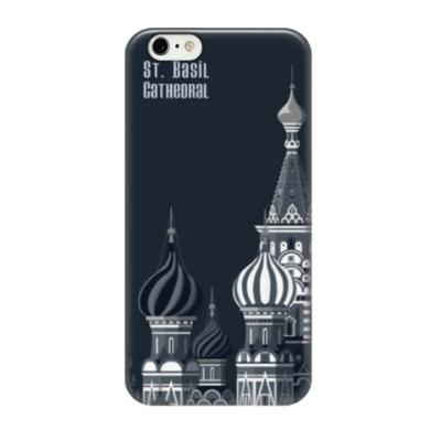 Чехол для iPhone 6/6s Собор Василия Блаженного