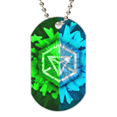 Жетон dog-tag Ingress