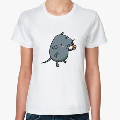 Классическая футболка 'Мышка'
