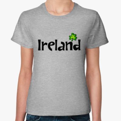 Женская футболка Ireland