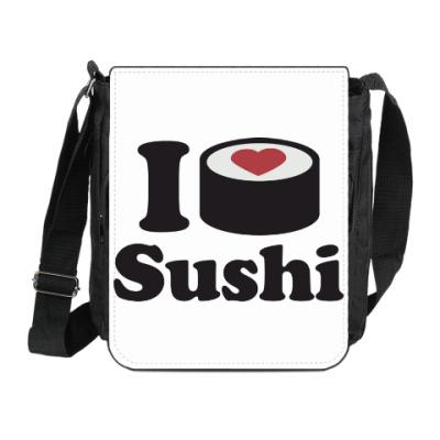 Сумка на плечо (мини-планшет) Love Sushi