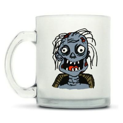 Кружка матовая Зомби