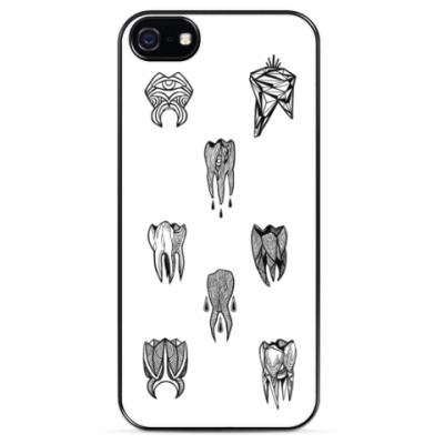 Чехол для iPhone Tooth 4 tooth / Зуб за зуб