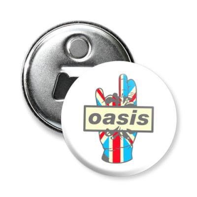 Магнит-открывашка Oasis