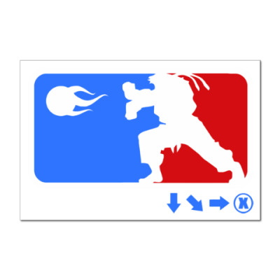 Наклейка (стикер) Funny Mortal Kombat