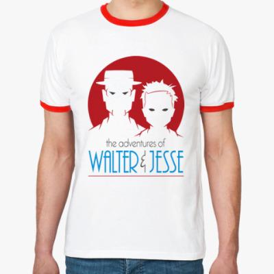 Футболка Ringer-T Уолтер и Джесси