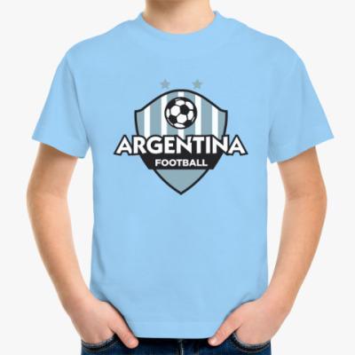 Детская футболка Футбол Аргентины
