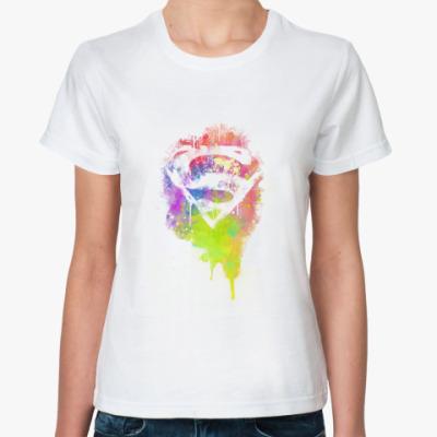 Классическая футболка Super Girl