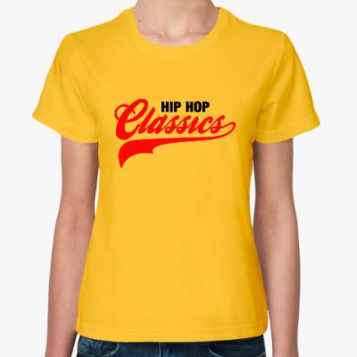 Женская футболка Hip Hop Classics