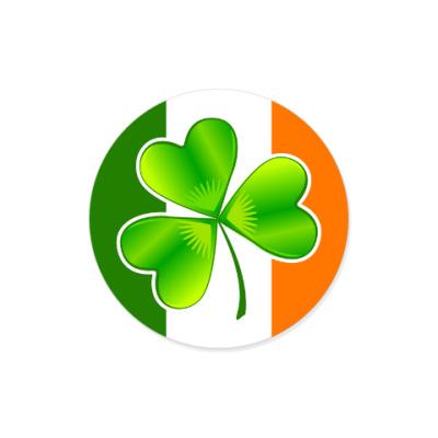 Виниловые наклейки Irish triskel