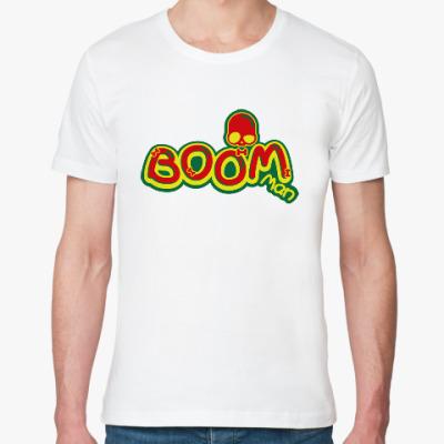 Футболка из органик-хлопка Boom Man