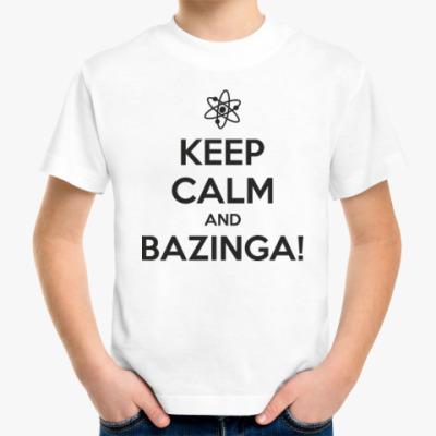 Детская футболка BAZINGA!