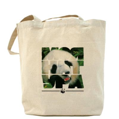 Сумка WWF. Моя натура - Панда!