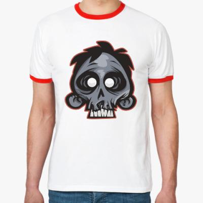 Футболка Ringer-T Crazy Monkey