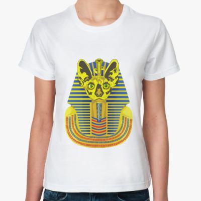 Классическая футболка Кот фараон