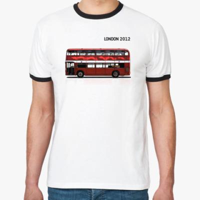 Футболка Ringer-T  'LONDON 2012'