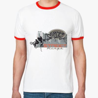 Футболка Ringer-T Street Kings BMX