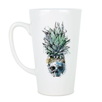 Чашка Латте Череп