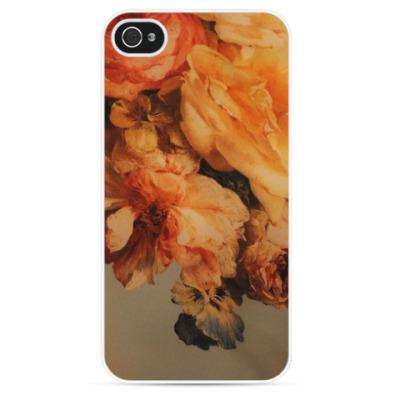 Чехол для iPhone Autumn Flowers