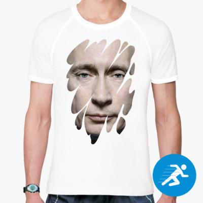 Спортивная футболка Лик Путина