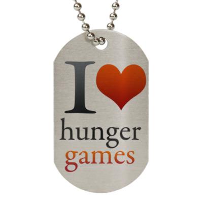 Жетон dog-tag Love hanger Games жетон
