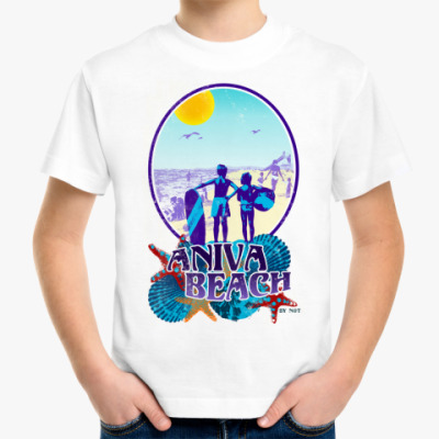 Детская футболка Сахалин Sakhalin