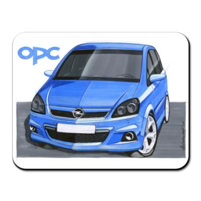 Коврик для мыши Opel Zafira OPC