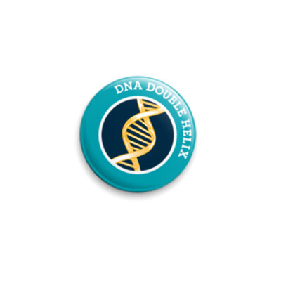 Значок 25мм  ДНК