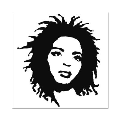 Наклейка (стикер) Lauryn Hill