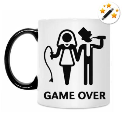 Кружка-хамелеон Game Over (Игра Окончена)