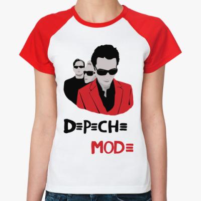 Женская футболка реглан DM glasses