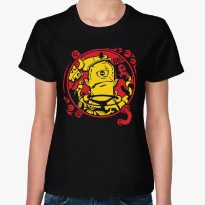 Женская футболка Марсианин inside!